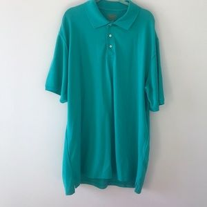 The Foundary Supply Co. men's teal short sleeve